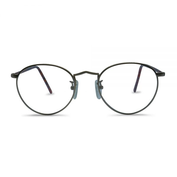 Vintage Oval Metal Optical Frame