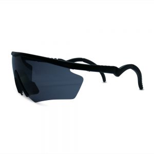Vintage Black Blade Sunglasses