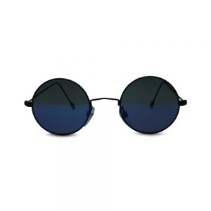 Vintage Black Round Sunglasses