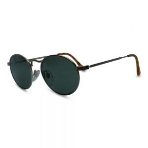Vintage Oval Metal Sunglasses