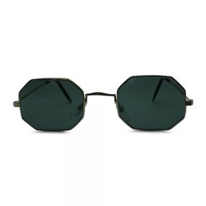 Vintage Hexagon Sunglasses