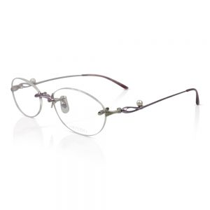 Shiseido Titanium Rimless Optical EyeGlasses Frame #SH9007