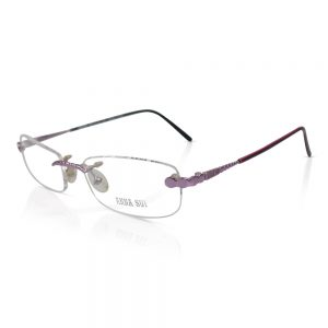 Anna Sui Rimless Optical EyeGlasses Frame #AS08103