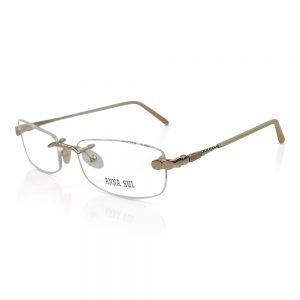 Anna Sui Rimless Optical EyeGlasses #AS08101