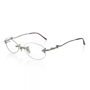 Shiseido Rimless Titanium Optical EyeGlasses Frame #SH2071