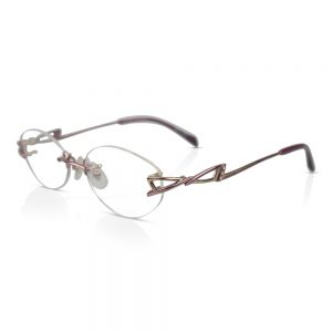 Shiseido Titanium Rimless Optical EyeGlasses Frames #9024