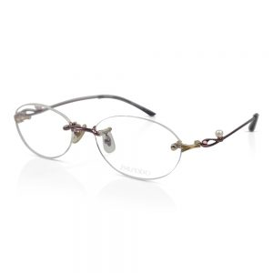 Shiseido Titanium Rimless Optical EyeGlasses Frames #9007