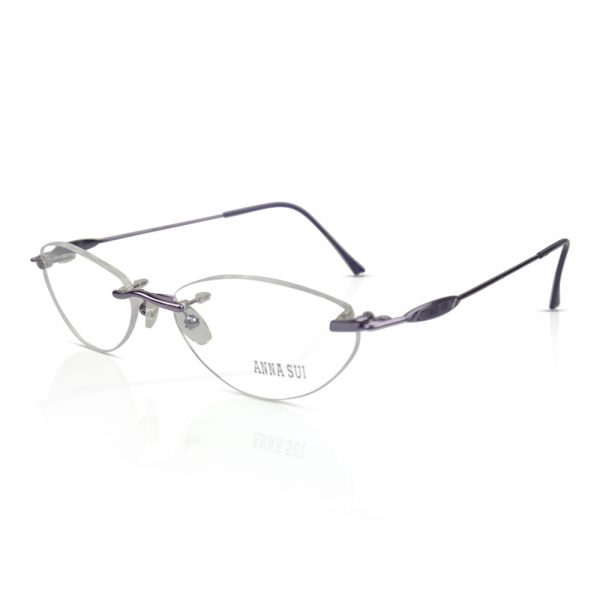 Anna Sui Rimless Optical EyeGlasses Frames #02104