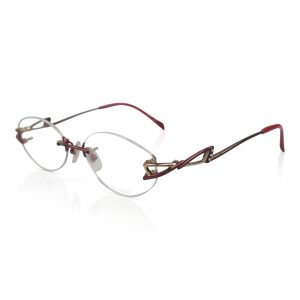 Shiseido Titanium Rimless Optical EyeGlasses Frame #9024