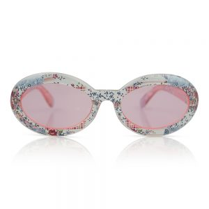 Clear/Pink Kids Sunglasses/Fashion Spectacles