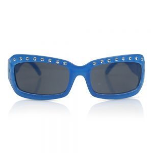 Blue with Diamonds Kids Sunglasses/Fashion Spectacles
