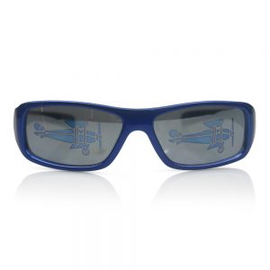 Blue with Aeroplanes on Lenses Kids Sunglasses/Fashion Spectacles