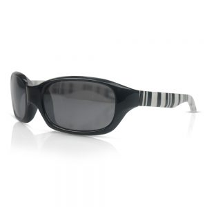 Black & Stripes Kids Sunglasses/Fashion Spectacles