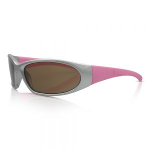 Silver & Pink Kids Sunglasses/Fashion Spectacles