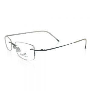 Smooth EyeWear Rimless Optical Frame Black #02