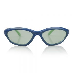 Blue with Green Lens Kids Sunglasses/Fashion Spectacles