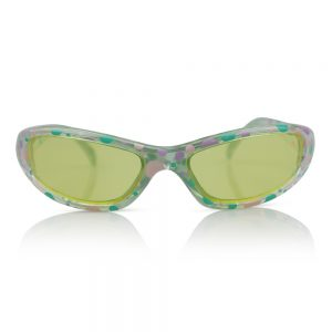 Clear with Dots Kids Sunglasses/Fashion Spectacles