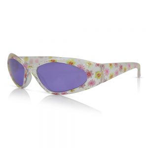 Clear with Flowers Kids Sunglasses/Fashion Spectacles
